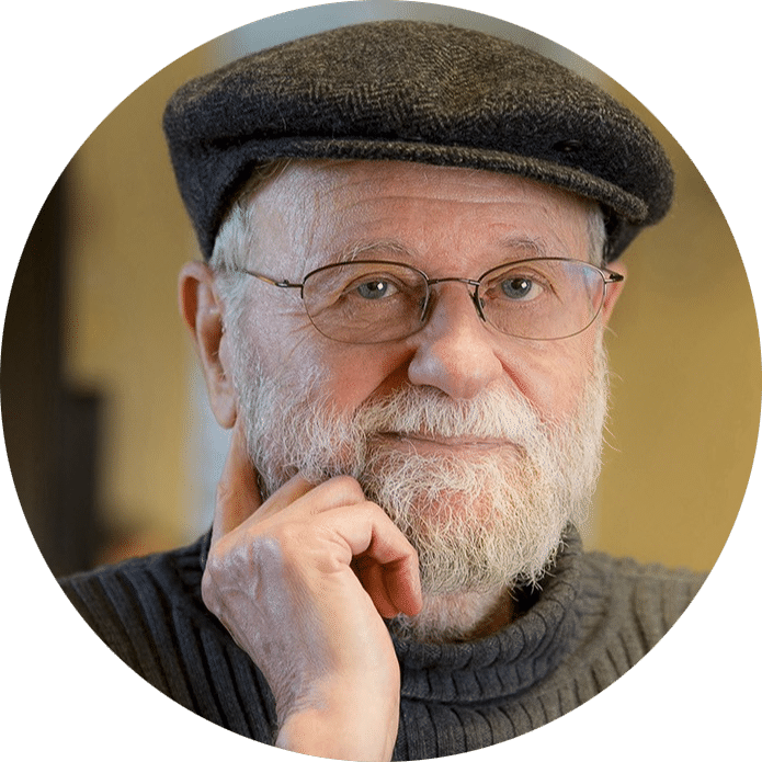Na imagem vemos Donald Norman, criador do termo UX